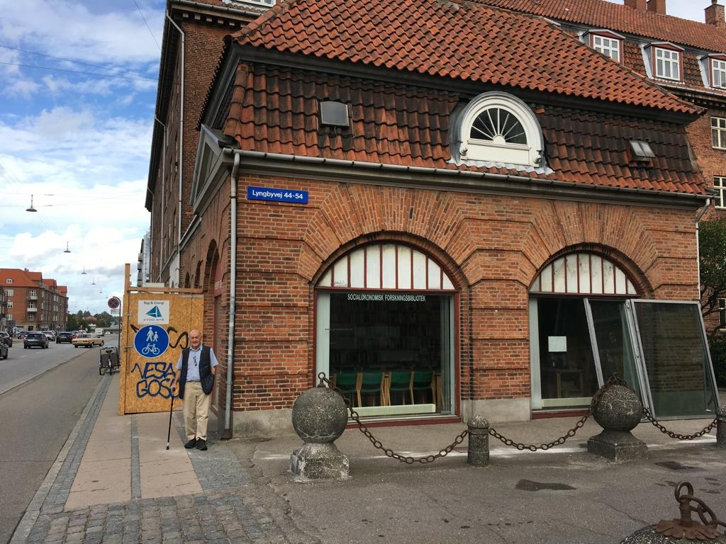 Billede af Biblioteket bygning på Lyngbyvej.