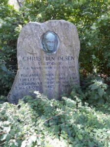 Mindesten - Chr. Olsen, Torøje